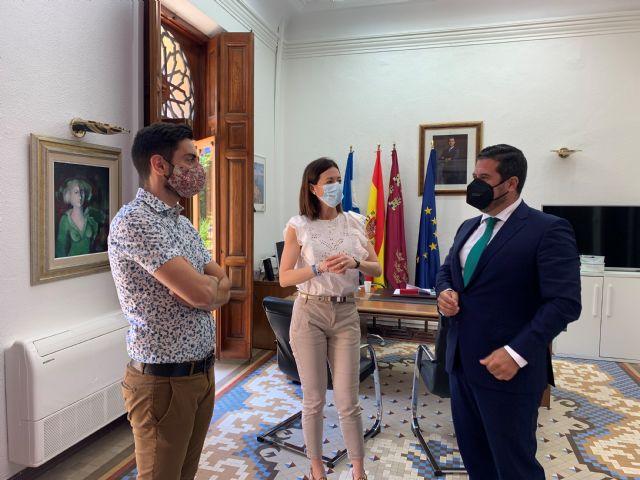 La alcaldesa recibe al nuevo presidente de CECLOR, Juan Jódar Bardón - 2, Foto 2