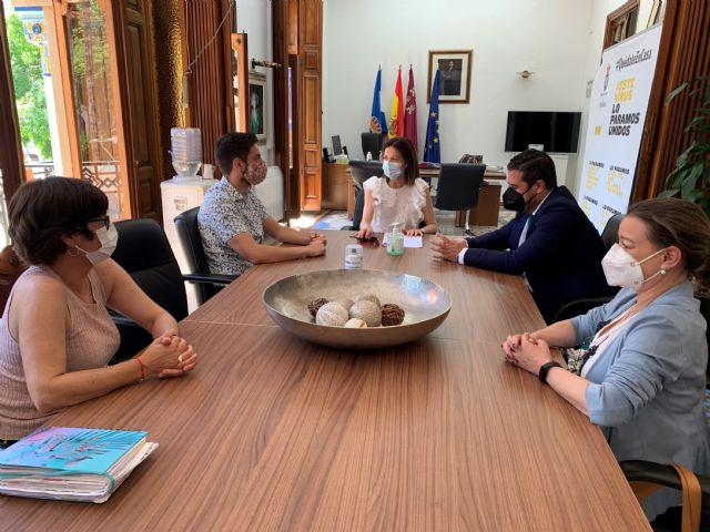 La alcaldesa recibe al nuevo presidente de CECLOR, Juan Jódar Bardón - 3, Foto 3