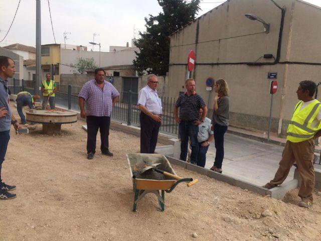 La Alcaldesa de Molina de Segura visita obras en ejecución en varios puntos del municipio - 1, Foto 1
