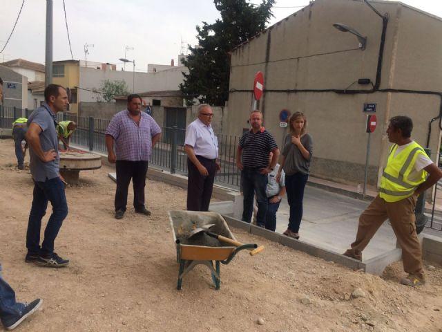 La Alcaldesa de Molina de Segura visita obras en ejecución en varios puntos del municipio - 2, Foto 2
