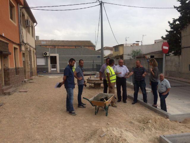 La Alcaldesa de Molina de Segura visita obras en ejecución en varios puntos del municipio - 3, Foto 3