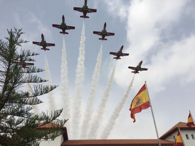 El Rey  Felipe VI presidió la entrega de Despachos a los nuevos Tenientes  en la Academia General del Aire de San Javier - 1, Foto 1