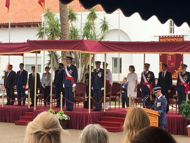 El Rey  Felipe VI presidió la entrega de Despachos a los nuevos Tenientes  en la Academia General del Aire de San Javier - 4, Foto 4