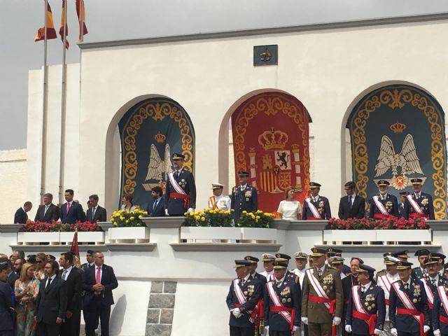 El Rey  Felipe VI presidió la entrega de Despachos a los nuevos Tenientes  en la Academia General del Aire de San Javier - 5, Foto 5