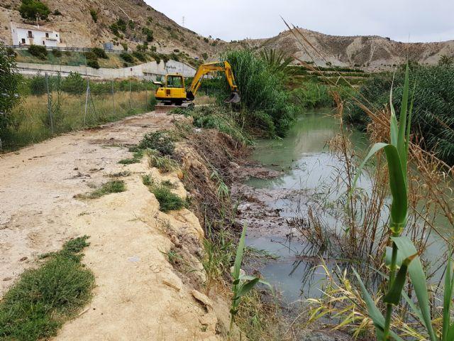 La CHS recupera el cauce del río Segura y elimina las cañas entre Ojós y Molina de Segura - 1, Foto 1