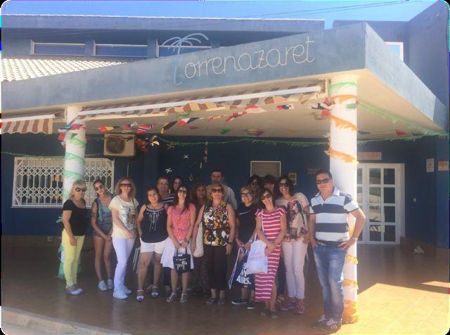 Alumnos del programa mixto de Atención Sociosanitaria a Personas Dependientes en Instituciones Sociales realizan dos visitas didácticas a fundaciones de Cartagena, Foto 1
