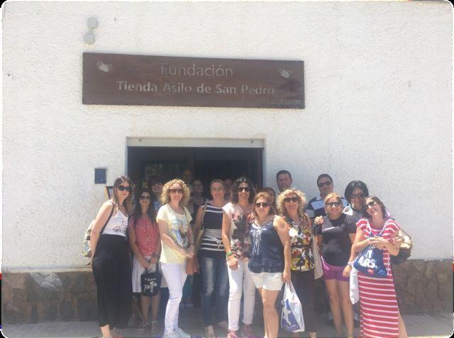 Alumnos del programa mixto de Atención Sociosanitaria a Personas Dependientes en Instituciones Sociales realizan dos visitas didácticas a fundaciones de Cartagena, Foto 2