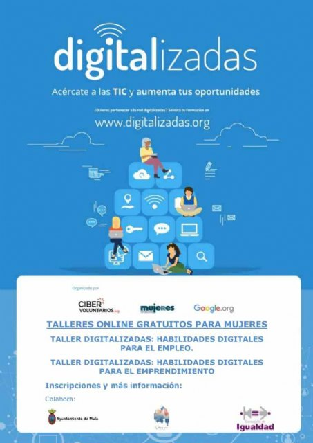 «Digitalizadas» Talleres online gratuitos para mujeres - 1, Foto 1