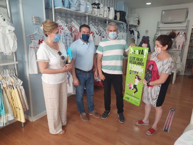 Los comercios de Alcantarilla regalan 15.000 euros en tarjetas de descuento - 2, Foto 2