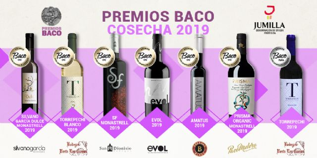 Seis oros y una plata hacen destacar a la DOP Jumilla en los premios Baco 2019 - 1, Foto 1