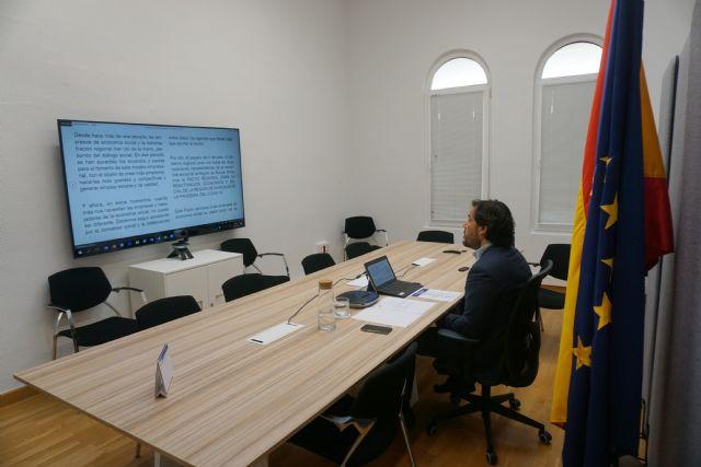 Miguel Motas participa en un seminario sobre oportunidades para la reconstrucción económica - 1, Foto 1