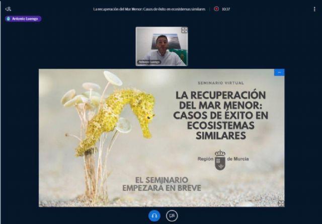 Seminario online La recuperación del Mar Menor: casos de éxito en ecosistemas similares - 1, Foto 1