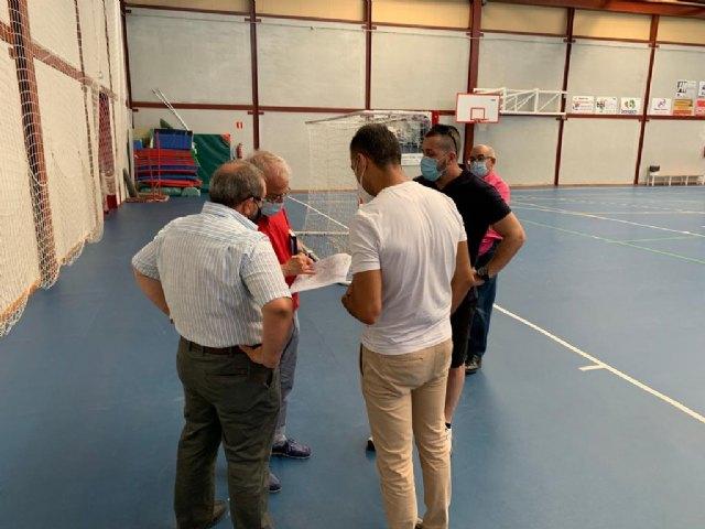 Deportes trabaja en la ampliación del polideportivo de San Ginés con la integración de los vestuarios - 2, Foto 2
