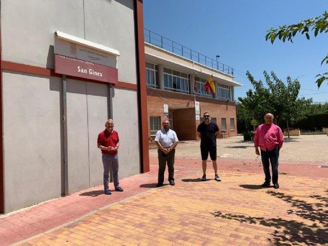Deportes trabaja en la ampliación del polideportivo de San Ginés con la integración de los vestuarios - 3, Foto 3