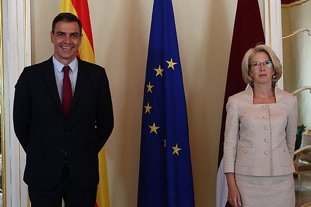 Sánchez señala el interés de España en profundizar en las relaciones económicas, sociales y culturales con Letonia - 2, Foto 2
