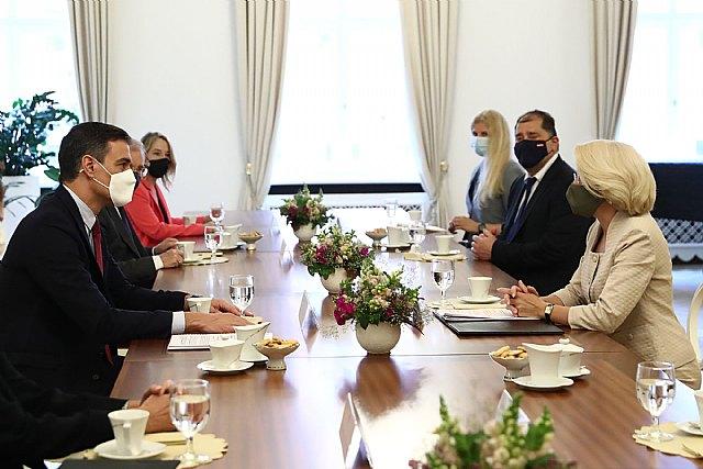 Sánchez señala el interés de España en profundizar en las relaciones económicas, sociales y culturales con Letonia - 3, Foto 3