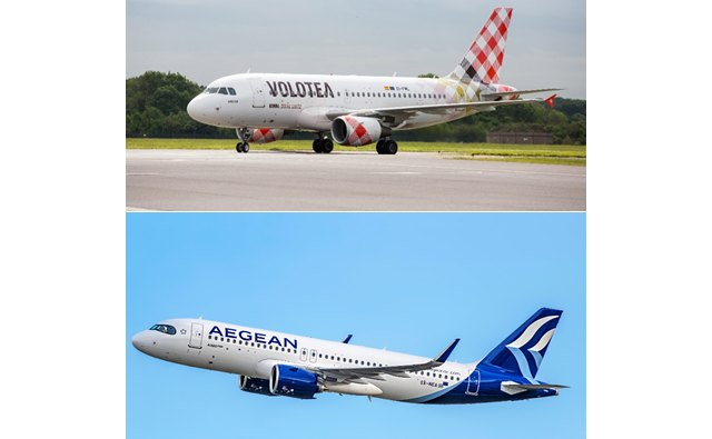 Volotea y Aegean firman un acuerdo de código compartido para ofrecer más opciones de destinos en la reanudación de los viajes - 1, Foto 1