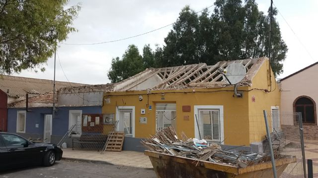 Obras de mejora estructural en la escuela unitaria de La Costera, Foto 3