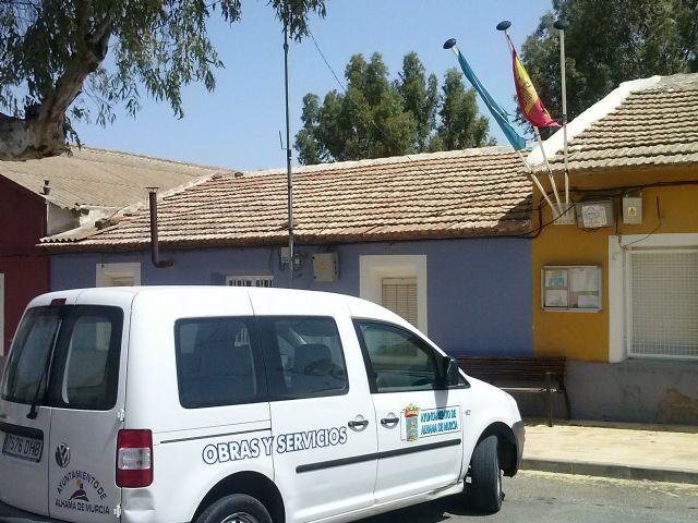 Obras de mejora estructural en la escuela unitaria de La Costera, Foto 5