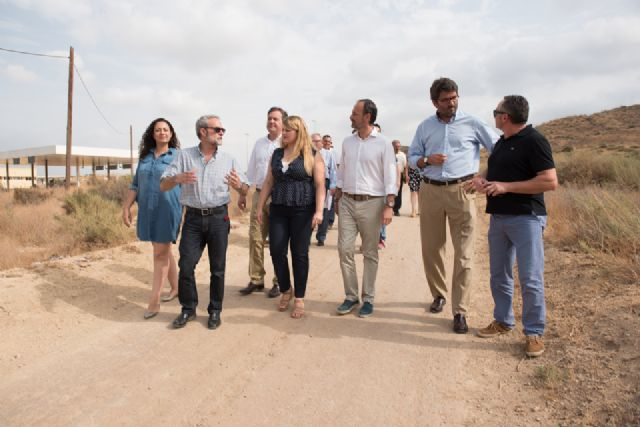 Turismo inaugura oficialmente la vía verde de Mazarrón, Foto 1