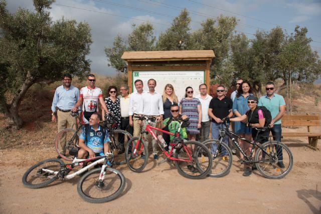 Turismo inaugura oficialmente la vía verde de Mazarrón, Foto 2
