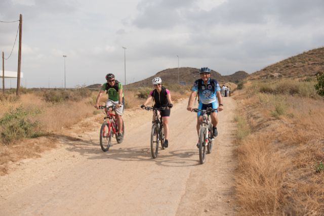 Turismo inaugura oficialmente la vía verde de Mazarrón, Foto 3