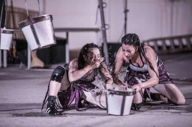 La poesía circense de Aigua sorprenderá al público en la explanada Barnuevo, de Santiago de la Ribera - 1, Foto 1
