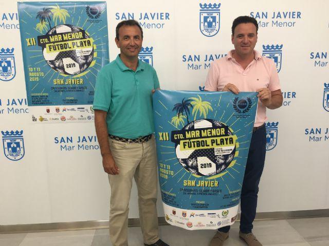 Calurosa acogida en el Ayuntamiento de San Javier al piragüista Pablo Sánchez, medalla de bronce en el Campeonato del Mundo junior y sub-23 celebrado en Rumanía - 1, Foto 1