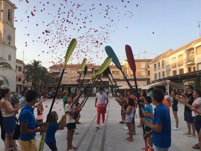 Calurosa acogida en el Ayuntamiento de San Javier al piragüista Pablo Sánchez, medalla de bronce en el Campeonato del Mundo junior y sub-23 celebrado en Rumanía - 3, Foto 3