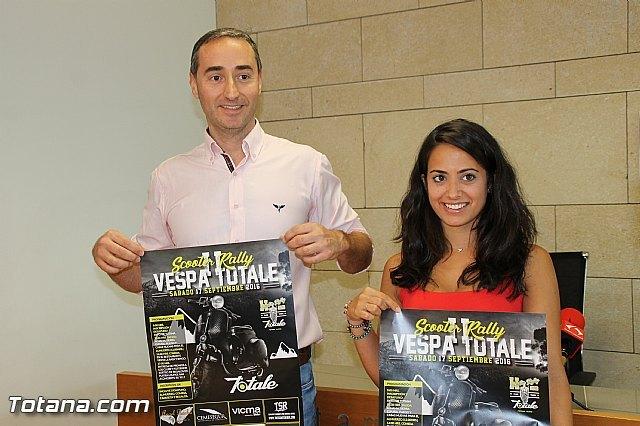 Presentan la II Scooter Rally Club Vespa Totale que tendrá lugar el sábado 17 de septiembre, Foto 1