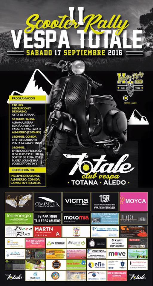 Presentan la II Scooter Rally Club Vespa Totale que tendrá lugar el sábado 17 de septiembre, Foto 3