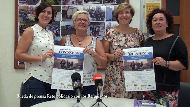 Totana se suma al reto Entre todos 12 millones, iniciativa promovida por la fundación CEPAIM en apoyo a los menores refugiados, Foto 1