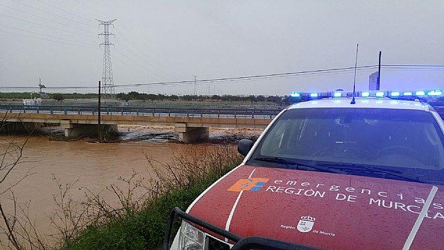 La Comunidad pone sobre aviso a las instituciones y efectivos incluidos en el Plan Inunmur ante la posibilidad de fuertes lluvias, Foto 1