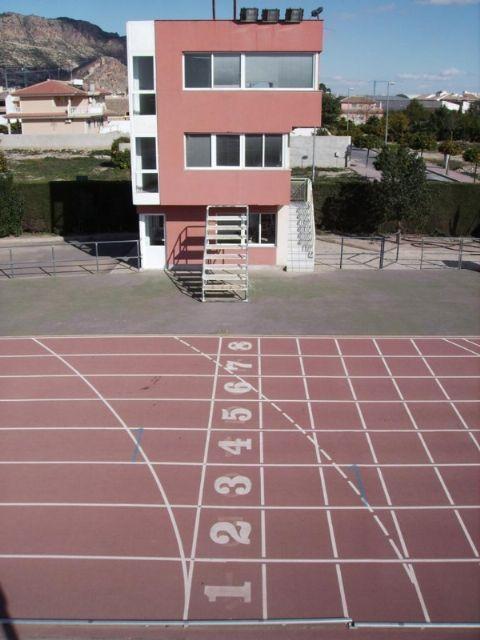La pista del complejo deportivo Guadalentín cerrará cuatro meses para su remodelación, Foto 4