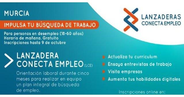 Murcia contará a partir de octubre con una nueva Lanzadera Conecta Empleo - 1, Foto 1