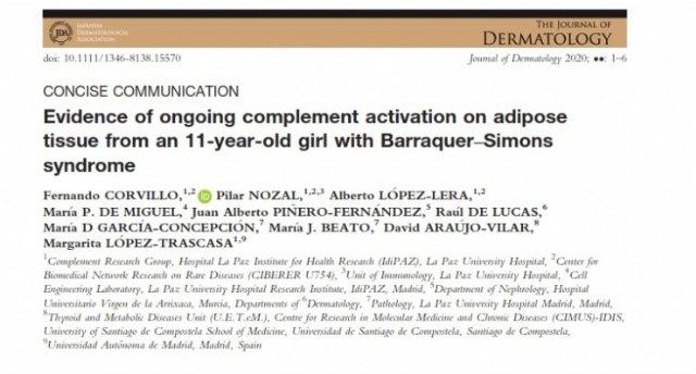 Estudio publicado en The Journal of Dermatology - 1, Foto 1