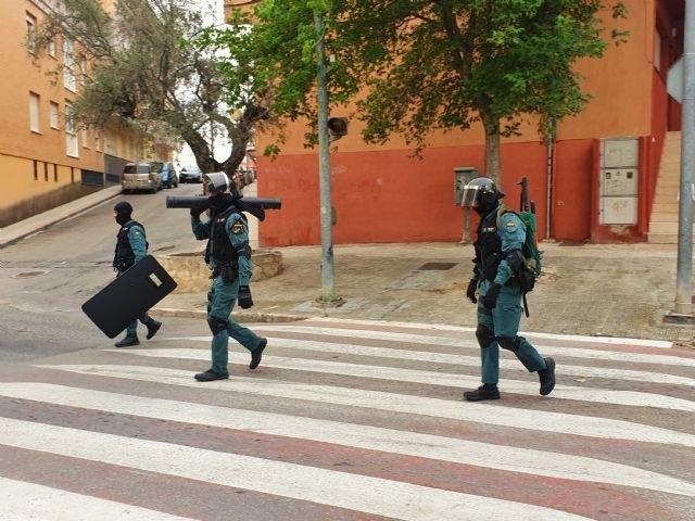 Una operación en materia de seguridad ciudadana interviene en tres viviendas ocupadas - 2, Foto 2
