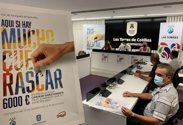 Una campaña de rasca y gana repartirá 6.000 euros en premios en Las Torres de Cotillas - 1, Foto 1
