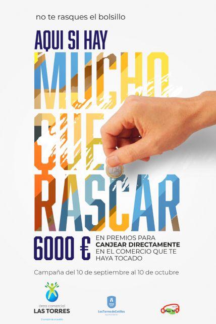 Una campaña de rasca y gana repartirá 6.000 euros en premios en Las Torres de Cotillas - 4, Foto 4