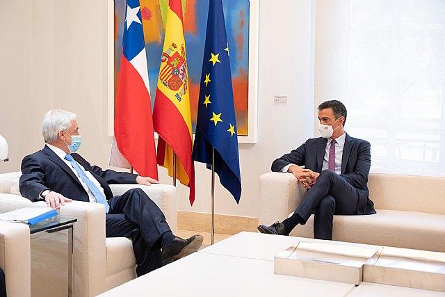 Sánchez reafirma ante Piñera los importantes lazos históricos de amistad y de cooperación que unen a España y Chile - 2, Foto 2