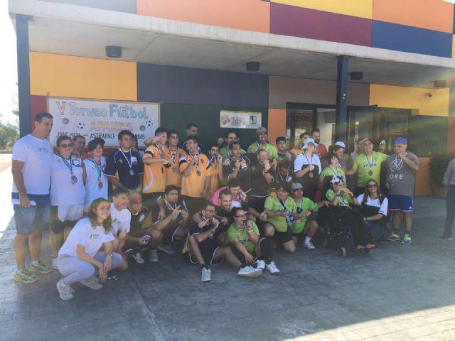50 jugadores participan en el V Torneo de APANDIS de los Juegos Deportivos del Guadalentín - 1, Foto 1