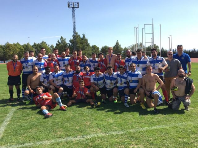 Lorca se impone en el Torneo de Rugby de los Juegos Deportivos del Guadalentín a los Marrajos de Adra, Foto 1