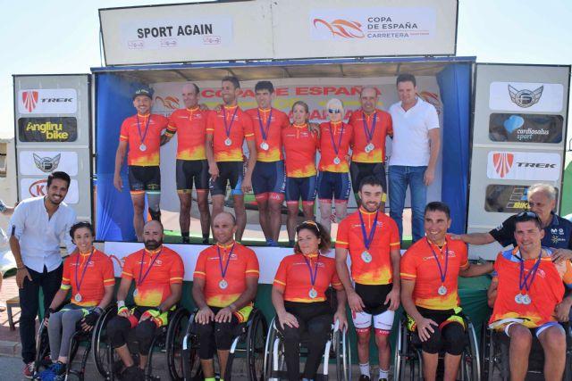Los mejores ciclistas adaptados midieron sus fuerzas en Mazarrón, Foto 1