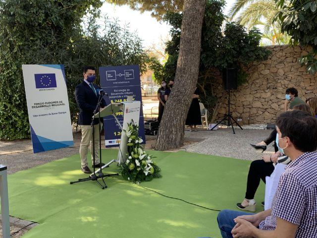 Las obras de remodelación del Parque Almansa  arrancan con la colocación de la primera piedra - 3, Foto 3