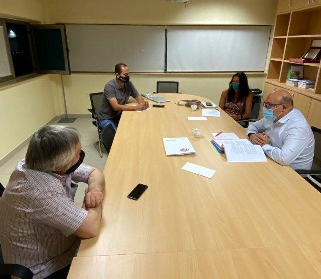 Pascual Lucas se reúne con la Asociación de Empresarios e Industriales de Cieza - 1, Foto 1