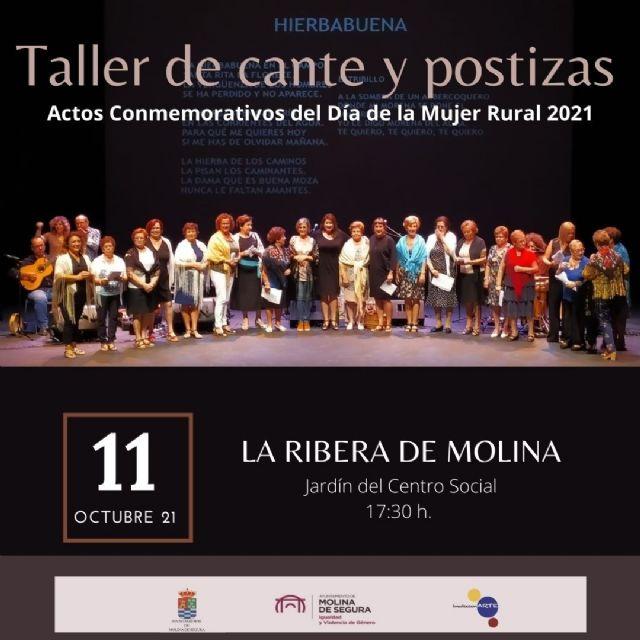 La Concejalía de Igualdad de Molina de Segura programa dos actividades para conmemorar el Día Internacional de las Mujeres Rurales - 2, Foto 2