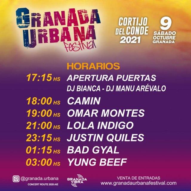 GRANADA se prepara para vivir el trap y el reggaeton más actual con JUSTIN QUILES, BAD GYAL, LOLA INDIGO, OMAR MONTES, YUNG BEEF y CAMIN - 1, Foto 1