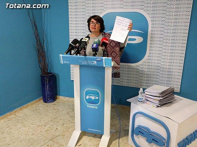 El PP califica de estafa pol�tica el estudio econ�mico financiero presentado por el PSOE, Foto 1