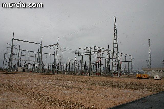 El PSOE pide la unificación del trazado de las líneas eléctricas que transportan energía hasta la subestación de Totana, Foto 1