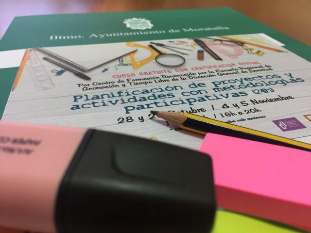 Finaliza el curso planificación de proyectos y actividades con metodologías participativas en Moratalla - 1, Foto 1